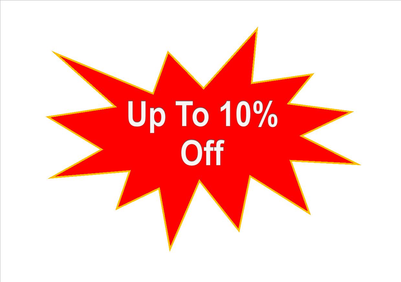 10 percent off saffron