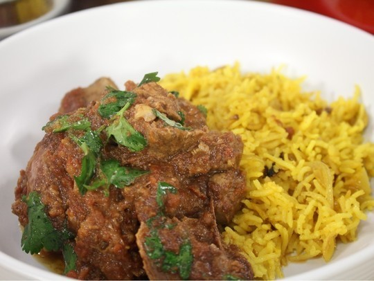 Lamb Saffron Curry