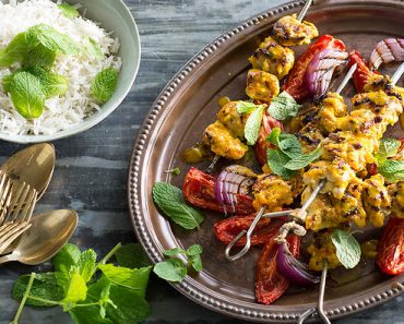 chicken-lemon-and-saffron-kebab
