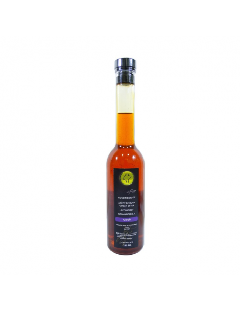 Saffron Oil Infused Organic Extra Virgin Olive Oil