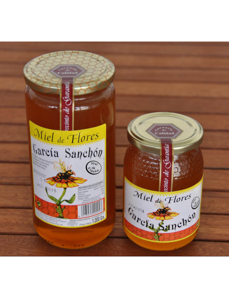 Raw Spanish Multifloral Honey - 1kg